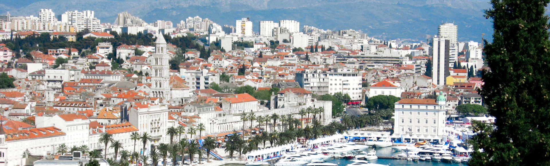 A view of Split's waterfront