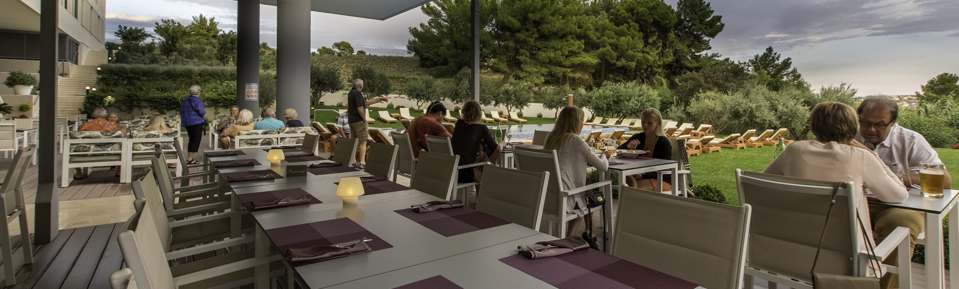 Restoran u hotelu Salona Palace